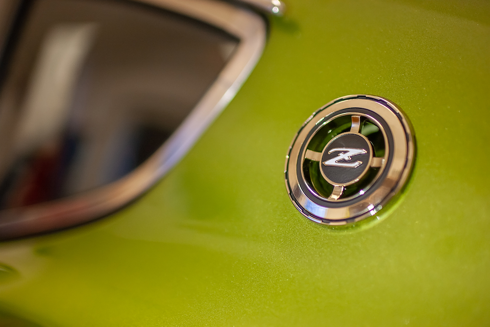 1976 AVOCADO GREEN DATSUN 280Z