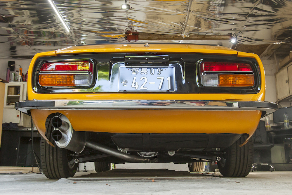 1972 YELLOW DATSUN 240Z