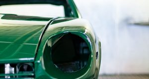 Painting A Racing Green Datsun 240z.